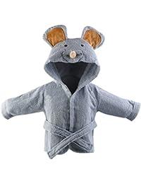 URAQT Bebé Albornoz Algodón, Pijamas Con Capucha De Baño, de Mangas Largas, con