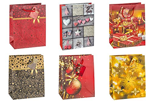 tsi-gift-bags-with-christmas-no-9-motif-6-designs-pack-of-12