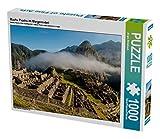 Machu Picchu im Morgennebel 1000 Teile Puzzle quer (CALVENDO Orte)