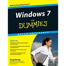 Windows 7 For Dummies Quick Reference (For Dummies: Quick Reference (Computers))