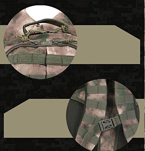 HCLHWYDHCLHWYD-Rucksack Studenten Tasche Farbe Tarnung Rucksack Rucksack bunten Langlauf- Ma Lasong Männer und Frauen Rucksack Tasche Reiten 3