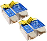 Pictech® Compatible ink Cartridges Replacement for Kodak 10B / 10C XL ink Cartridges - for Kodak Easyshare ESP3 ESP5 ESP7 ESP9 ESP3200 ESP3250 ESP5000 ESP5210 ESP5100 ESP5200 ESP5210 ESP5250 ESP5300 ESP5500 ESP7250 ESP7200 ESP7250 ESP9200 ESP9250 Office6100 Office6150 Hero6.1 Hero7.1 Hero9.1 Printers (2 Sets)