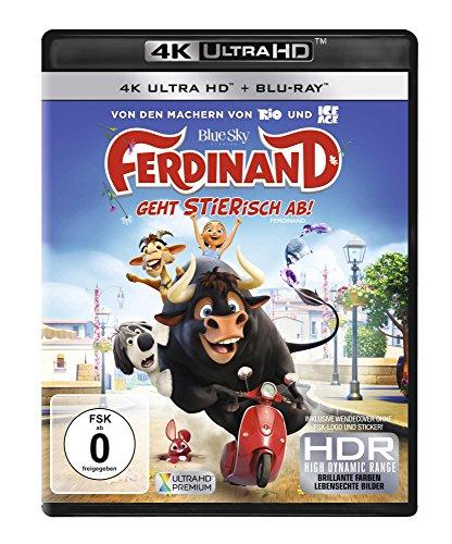 Ferdinand: Geht STIERisch ab! - Ultra HD Blu-ray [4k + Blu-ray Disc]