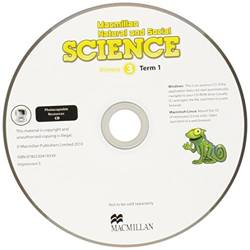 Macmillan Natural and Social Science Level 3 Photocopiable Resources CD