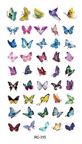 stickers-de-tatouage-temporaire-non-permanent-pour-lart-corporel-petits-papillons-rc315-temporary-ta