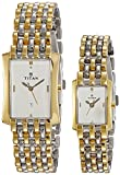 Titan NH19272927BM01 Bandhan Analog White Dial Couple Watch (NH19272927BM01)