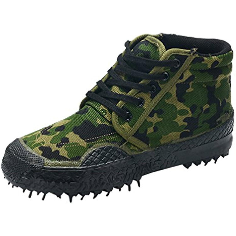 Dooxi Hommes Femmes Hiver Militaires Sécurité Chaussure Leisure Antidérapant Travail De Randonnée Chaussures De Travail Plein... - B075R6DPRK - b534cf