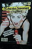 L\'ECHO DES SAVANES 65 SEPTEMBRE 1988 COVER MADONNA TEST-ROCK FAITES-VOUS MADONNA