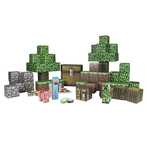 Minecraft - Paper Craft Deluxe (Giochi Preziosi 16721)