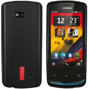 mumbi silicone TPU Coque Nokia 700 - Housse skin Etui Case Protecteur Noir