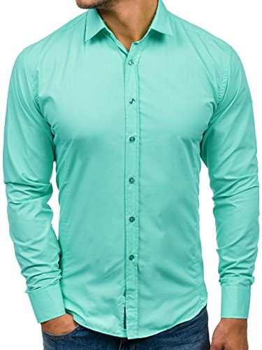 Modelle /& Farben,Baumwolle,1//2 Arm,ÖkoTex Standard100 Herren Kurzarm Hemd,div