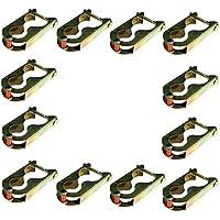 Comparador de precios Trampolín 12x Pinzas Pinzas de sujeción Fijación para red 6barras - precios baratos