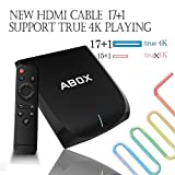 [Gratis Mini Tastiera Wireless] Android 6.0 TV Box 2GB/16GB, 2017 Modello...