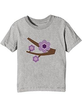 Rama Niños Unisexo Niño Niña Camiseta Cuello Redondo Gris Manga Corta Todos Los Tamaños Kids Unisex Boys Girls...