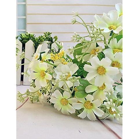 GNWE seta artificiale Real Touch bouquet di fiori Home Sala o Compleanno arredamento giardino orange#489