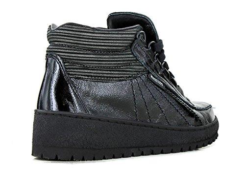 f009162e2bdfe2 MEPHISTO LAURIE Bottines / Boots Femme Black Jeu Réel Vue Rabais ...