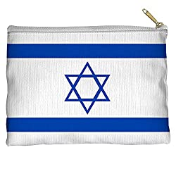 Israeli Flag International Flags World Nations Accessory Pouch