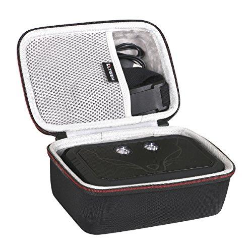 Schwarz-traveler-case (LTGEM EVA Hart Hülle Reise Tragen Tasche Case für Doss Traveler Bluetooth Speaker)