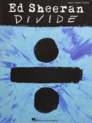 Ed Sheeran: ÷ (Divide) (PVG Book): Songbook für Klavier, Gesang, Gitarre (2011 Buch)
