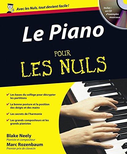 Le Piano pour les Nuls (+ 1CD audio) par Marc ROZENBAUM