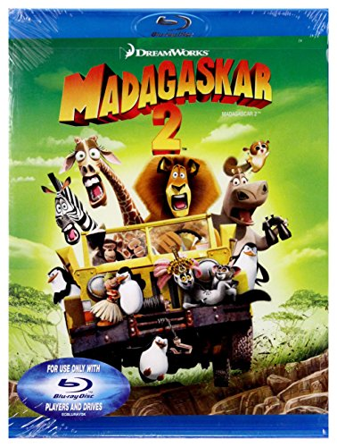 Madagaskar 2 [Blu-Ray] [Region B] (IMPORT) (Keine deutsche Version) (Madagascar 2 Blu Ray)