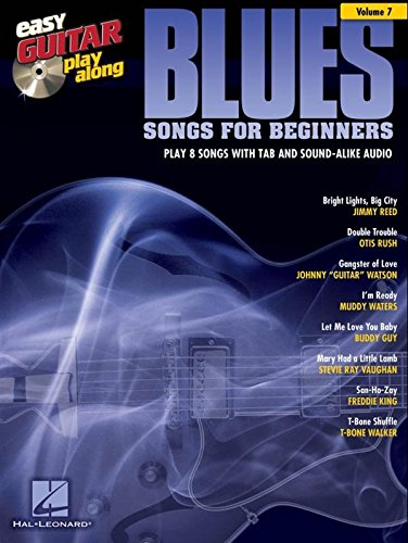 easy-guitar-play-along-volume-7-blues-songs-for-beginners-partitions-cd-pour-guitare-tablature-guita