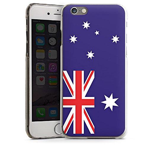 Apple iPhone 4 Housse Étui Protection Coque Australie Drapeau Ballon de football CasDur transparent