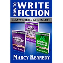 How to Write Fiction: Busy Writer's Guides Set 1 (English Edition)