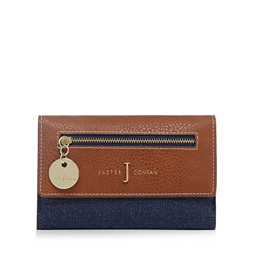 j-by-jasper-conran-womens-navy-denim-flap-over-wallet