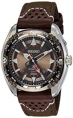 Seiko SUN061P1 - Reloj para hombre, color blanco / gris