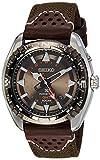 Seiko Herren-Armbanduhr Analog Quarz Textil SUN061P1