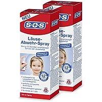 SOS Läuse-Abwehr-Spray (2er Pack) Schutz vor Läusebefall preisvergleich bei billige-tabletten.eu