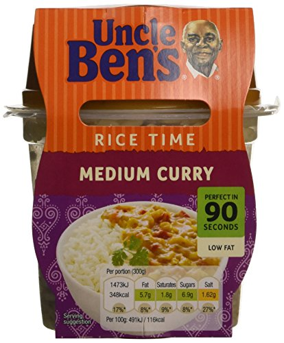 uncle-bens-ricetime-medium-curry-300gpack-of-5