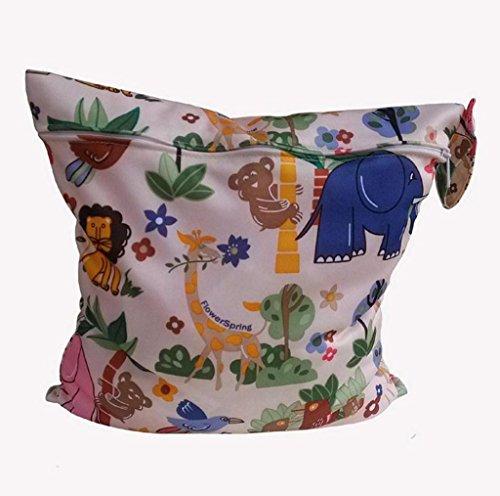 Koly La bolsa de orina bebé impermeable especial sola cremallera bolsa de almacenamiento, 11 colores,C