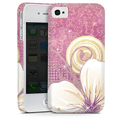 Apple iPhone 5s Housse étui coque protection Fleurs Fleurs Fleurs Cas Premium mat