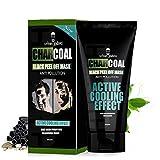 UrbanGabru Charcoal Peel Off Mask, 120g, Black, 120 g