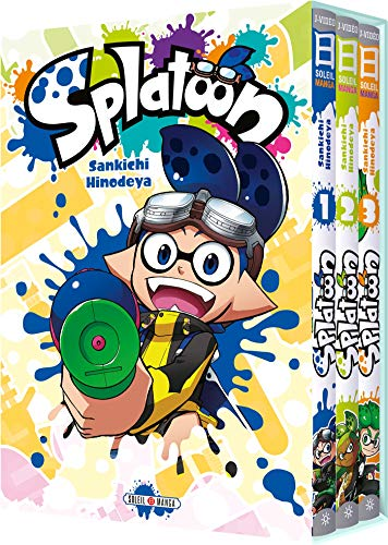 Splatoon 04 - Coffret T1 à T3