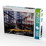 NEW YORK CITY Collage 1000 Teile Puzzle quer