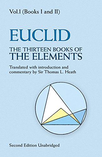 The Thirteen Books of The Elements: Volume 1: Books 1 and 2