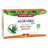 SuperDiet Pur Jus d'Aloe vera 20 ampoules de 15ml soit 300ml