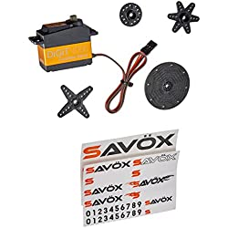 SAVOX Sc-1258tg Super Speed Titanium Gear Standard Digital Servo
