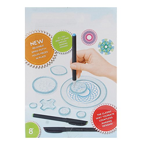 DyNamic Spirograph Design Set Tin Draw Draw Art Craft Create Education Tool
