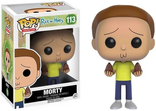 Funko - POP! Vinilo Colección Rick & Morty - Figura Morty (9016)