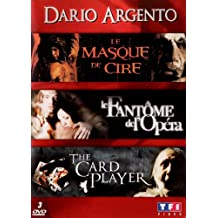 Dario Argento - Coffret - Le masque de cire + Le fantôme de l'opéra + The Card Player