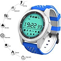 Reloj Deporte Inteligente QIMAOO F3 Smart Watch Bluetooth 4.0 Fitness Tracker Sincronización con Smartphone Llamada SMS