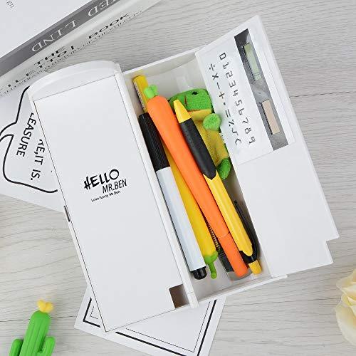 Estuche Nuevo creative whiteboard Lápiz caso calculadora