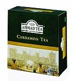 Ahmad Tea Cardamom Tea (Pack of 1, Total 100 Tea Bags)