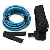 4m Adjustable Adult Kids Swimming Bungee Exerciser Leash Training Hip Swim Belt Cord Safety Swimming Pool Accessories