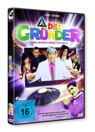 Der Gründer - Sex, Aliens & Kanal Teleportal [2 DVDs] Preisvergleich