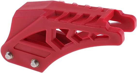 Rouge Sharplace Guide De Cha/îne De Protection pour 50 125 150 160 Chinois Pit Moto De Dirt Bike